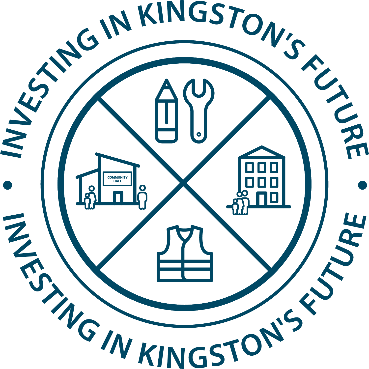 Investing in Kingston's future logo