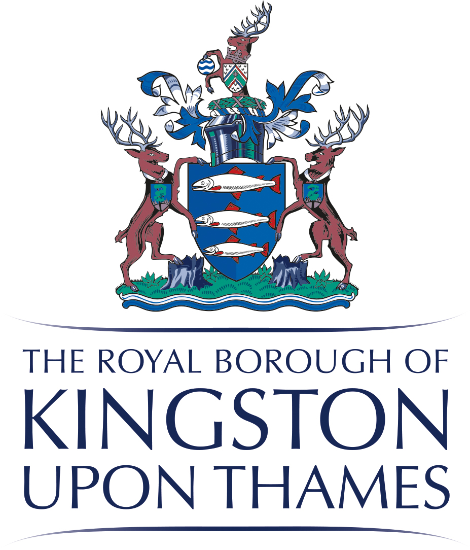 The royal borough of Kingston upon thames coat of arms.